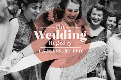 Do I Need A Wedding Registry Kitchn
