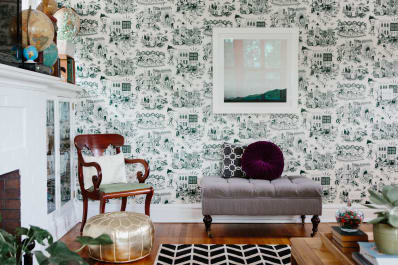The New Toile: A Beloved Pattern Gets Cheeky Fresh Twists | Apartment  Therapy