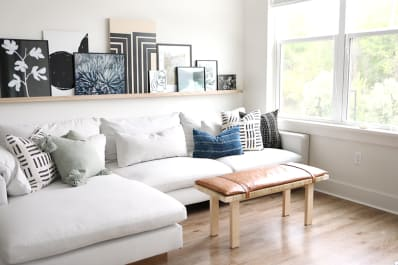 IKEA Hacks That Look Like Expensive Living Room Decor | Apartment Therapy
