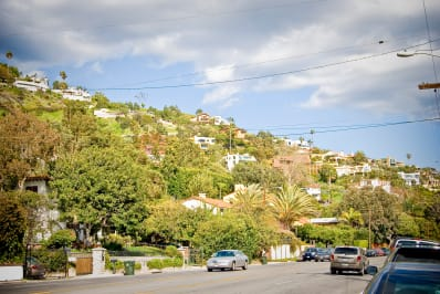 Street in Malibu