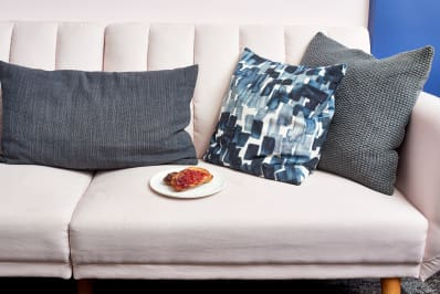 Clean Food Drink Couch Stains Microfiber Leather Kitchn