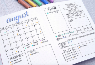 11 inspiring bullet journal budget trackers apartment therapy
