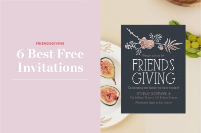 the best friendsgiving invitations you can send for free kitchn