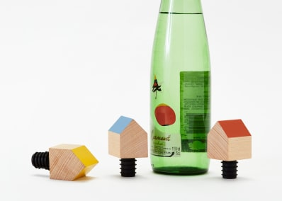 Bottle House Bottle Stopper
