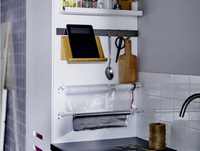 A Clever Storage Idea For Small Kitchens Apartment Therapy