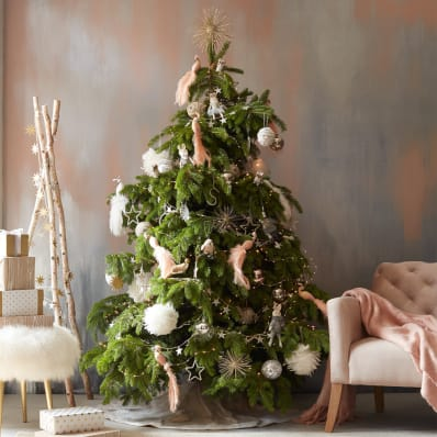 where to buy christmas ornaments tree toppers apartment therapy - Best Place To Buy Christmas Decorations