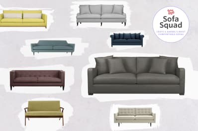 Reviewed The Most Comfortable Sofas At Crate Amp Barrel