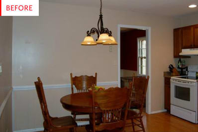 Breakfast Nook Kitchen Remodel Before After Photos Apartment Therapy - Kitchen remodels before and after photos