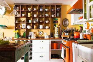 Cubbies The Kitchen Storage Trend That S An Update On Open Shelving