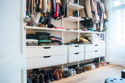 How I Completely Transformed My Wardrobe With One Closet Hack   Apartment  Therapy