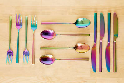 12-Piece Electroplated Flatware Set