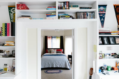 Space Saver Swap Out Bookcases For Built In Shelving