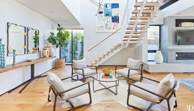 Claire holt home photos neutrals design lessons apartment therapy