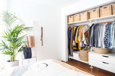 Declutter Your Closet And Downsize Your Wardrobe   September Sweep 2018    Apartment Therapy