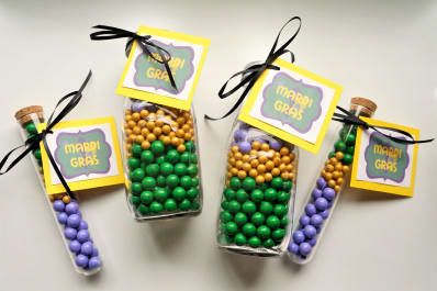 Mardi Gras Candy Favors