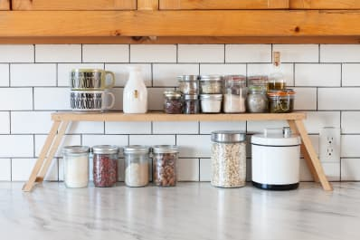 Beau Smart Counter Storage From Melissa And Sonnyu0027s Ontario Home