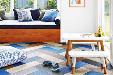 Carpet Tiles: Unique Patterns and Installation Ideas | Apartment Therapy