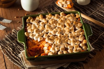 Marshmallows On Sweet Potatoes Who Thought This Up Anyway Kitchn