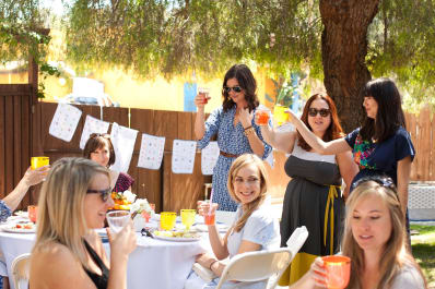 how to throw a bridal shower the bride will love kitchn