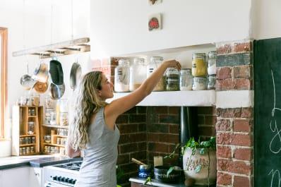 5 Ways to Organize Your Pantry (and Keep It Organized) | Kitchn Snack Storage Ideas Kitchen Office on kitchen food storage, kitchen dish storage, kitchen vegetable storage,