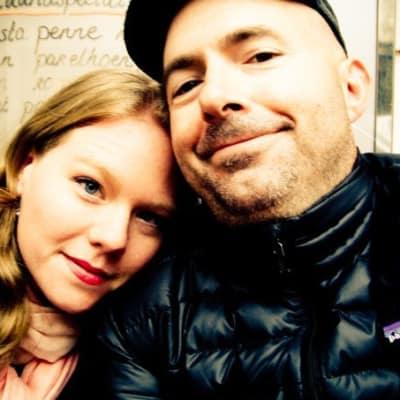 Photo of Kate and Cavan Carruth