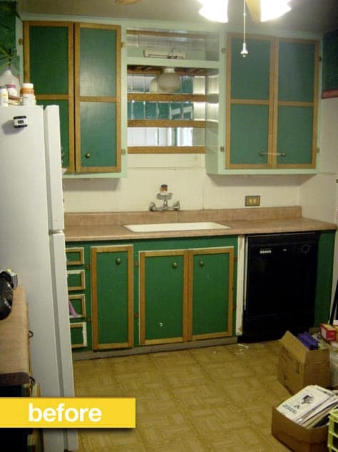 Despite A Very Limited Budget, Kitchen Reader Cheryl Wasnu0027t Going To Let  That Get In The Way Of Redoing Her Kitchen. With The Help Of Her Husband  And Some ...