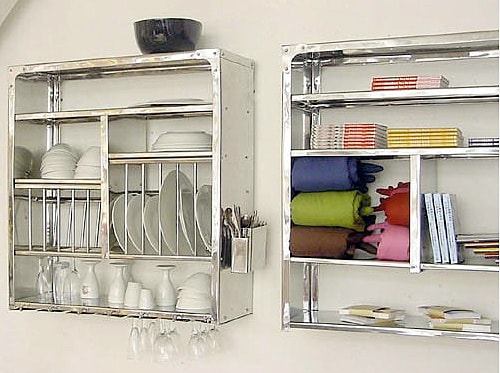 Good Question Looking For Wall Mounted Dish Rack Kitchn