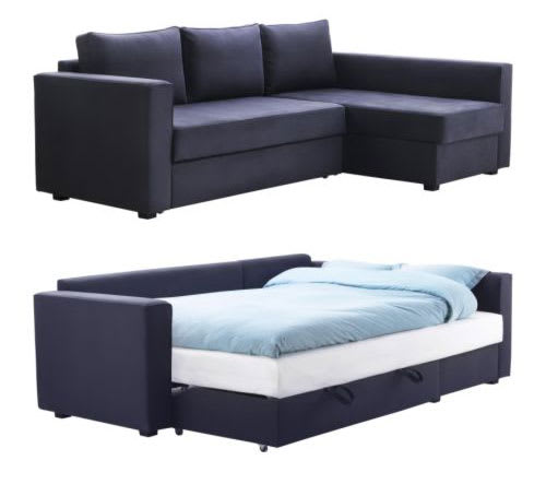 MANSTAD Sofa Bed with Storage from IKEA | Apartment Therapy