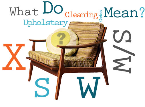 How To Read Upholstery Cleaning Codes Apartment Therapy