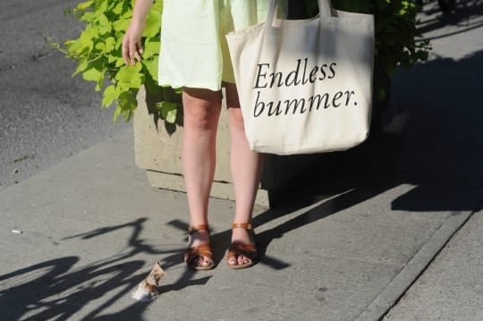 Endless Bummer Tote from Field Guided