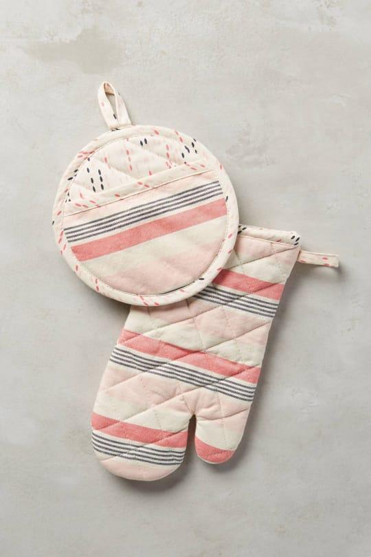 Beachchair Stripe Potholders from Anthropologie