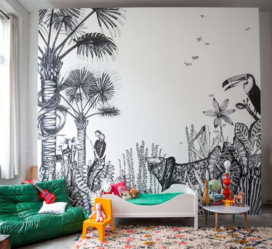 The Wild Wallpaper by Minakani Lab