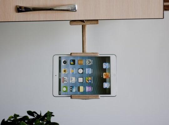 Adjustable Kitchen Tablet & Phone Holder from Tree Sky