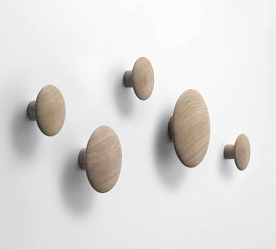 Dots Coat Hooks by Tveit & Tornøe