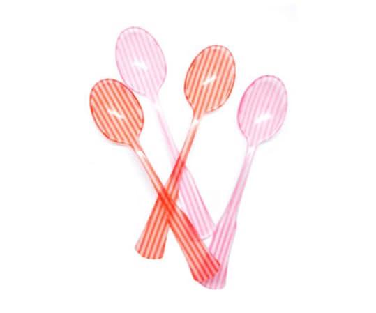 Candy Stripe Teaspoon Set from Leif