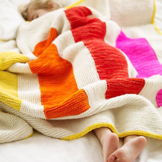 Stripey Blanket by Joelle Hoverson
