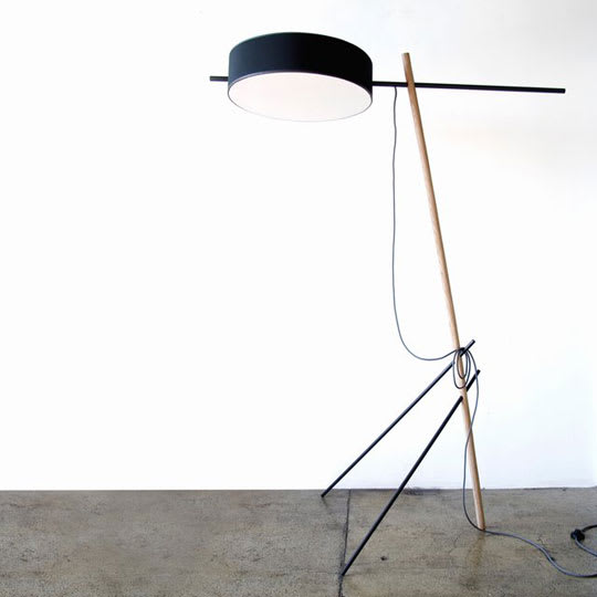Excel Floor Lamp by Rich Brilliant & Willing