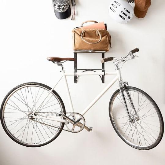 Wall Mounted Bike Rack at Pottery Barn
