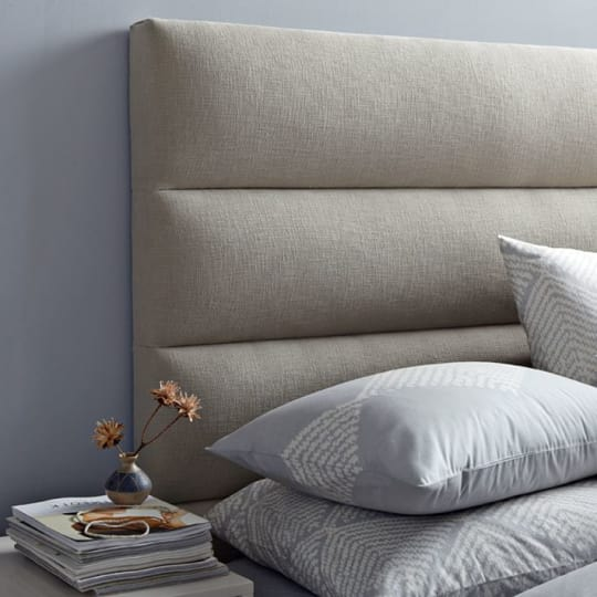 Panel-Tufted Headboard at West Elm