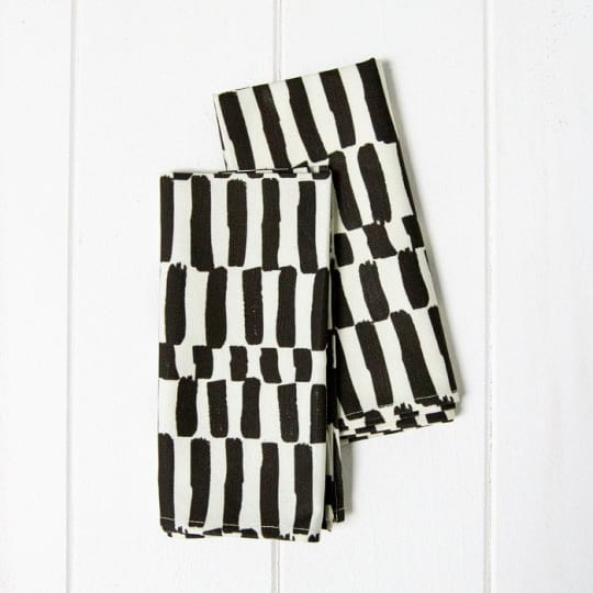 Striped Napkins from A Sunny Afternoon