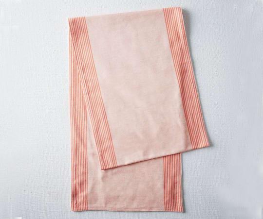 Border Stripe Yarn Dye Table Runner from West Elm