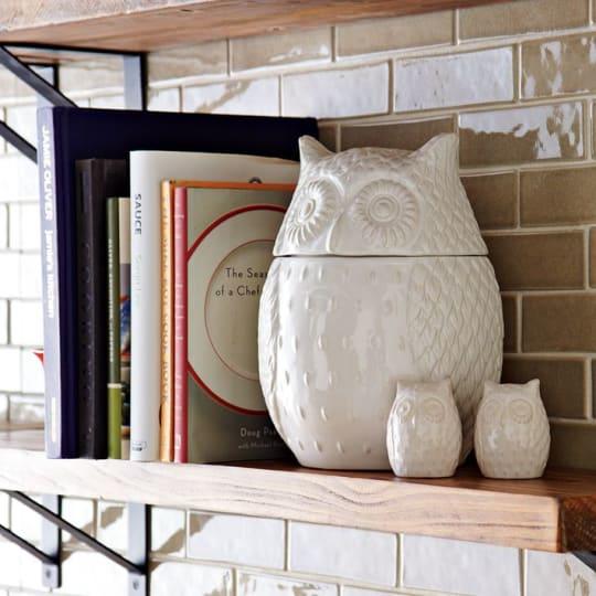 Owl Cookie Jar from West Elm