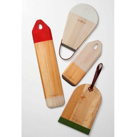 Colorblocked Cutting Boards from BDDW