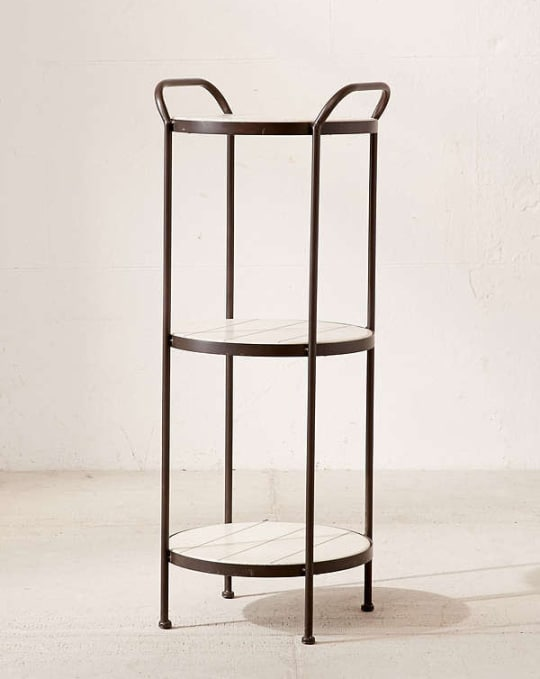 Charity Tiered Side Table at Urban Outfitters