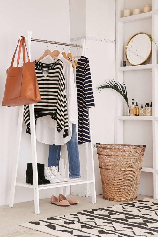 Wood Clothing Rack