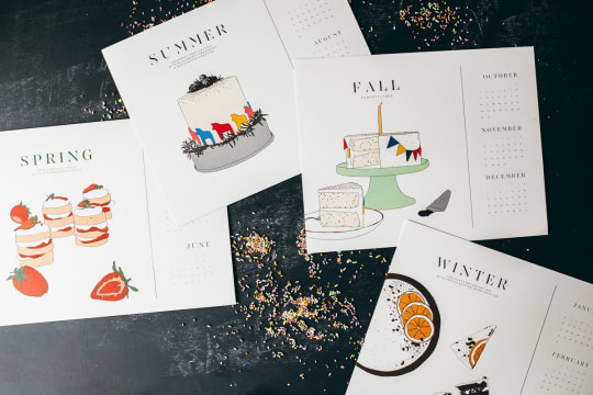2016 Feast Your Eyes Calendar by Brown Parcel Press & Molly Yeh