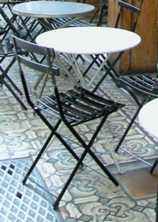 Classic Folding Bistro Chairs