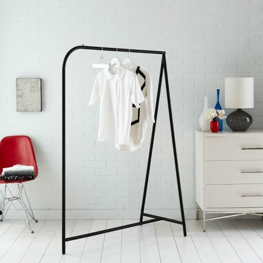 Garment Rack, Black at West Elm