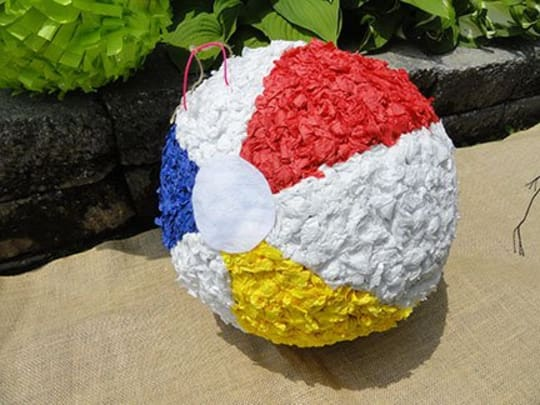 Beach Ball Piñata from The Party Stitch