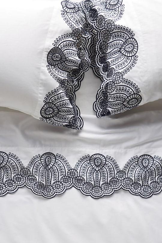 Eyelet Embroidered Sheet Set